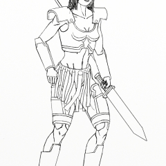 Berry the Warrior WIP013