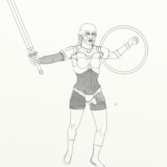 Girl Warrior WIP010