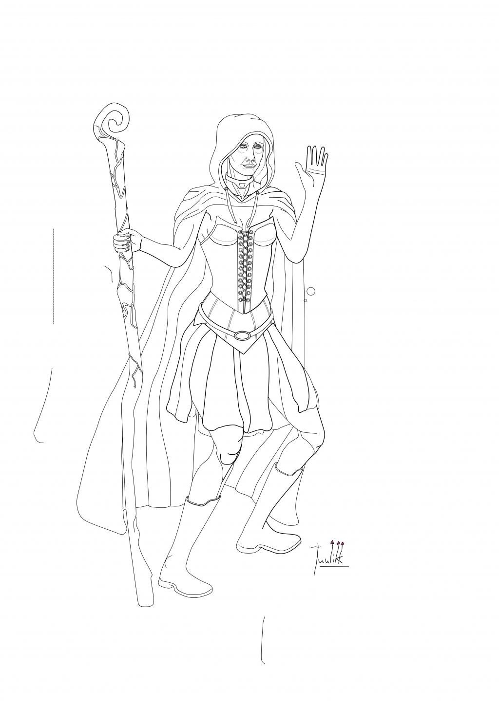 A Sorceress WIP016
