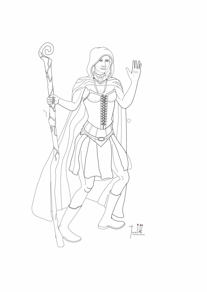 A Sorceress WIP019