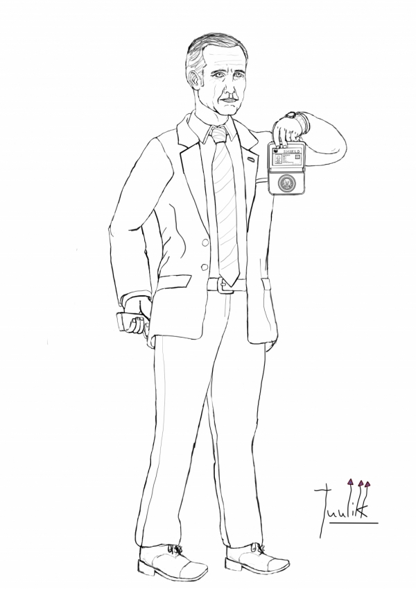 Agent Coulson of S.H.I.E.L.D WIP005