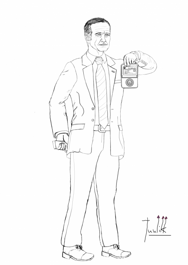 Agent Coulson of S.H.I.E.L.D WIP009