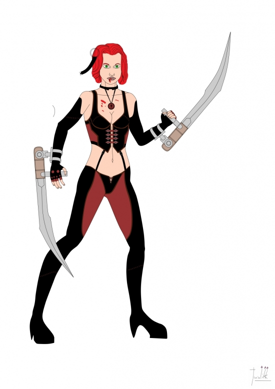 Bloodrayne Color WIP003 - W1273H1800