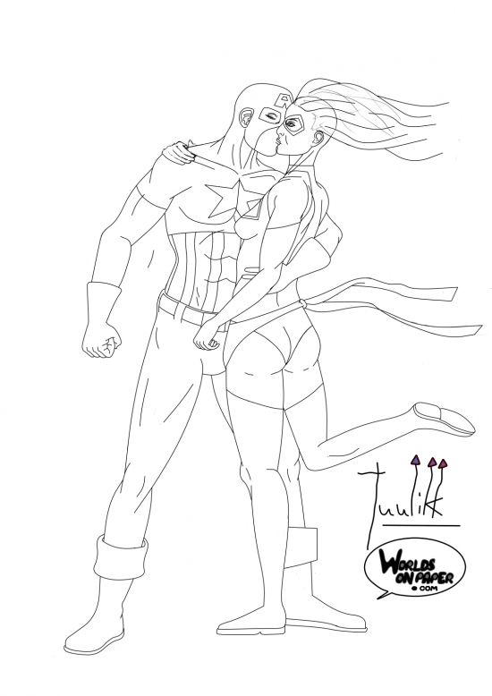 Hero Kissing 01 WIP008 - W1131H1600