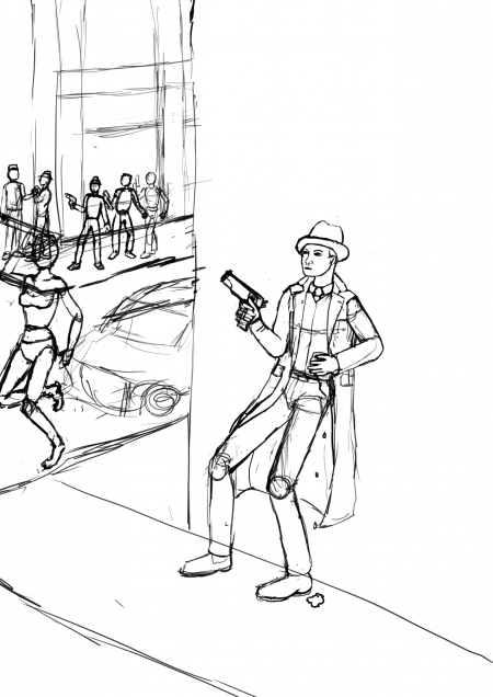 Hiding from confrontation WIP010