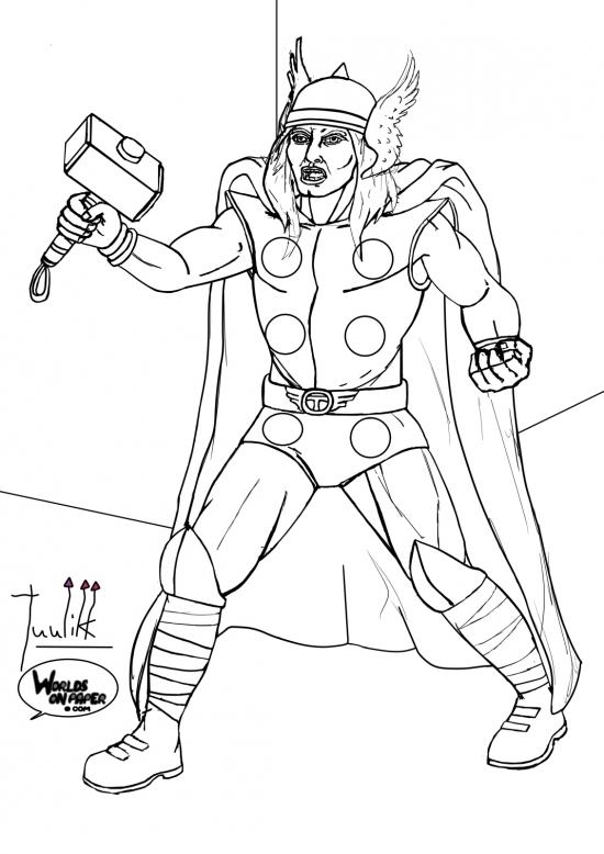 Marvel - Thor WIP011 - W1131H1600