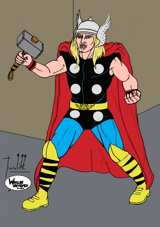 Marvel - Thor WIP011 color - W1131H1600