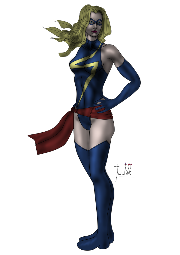 Ms. Marvel - Heroic Pose Color WIP005.png