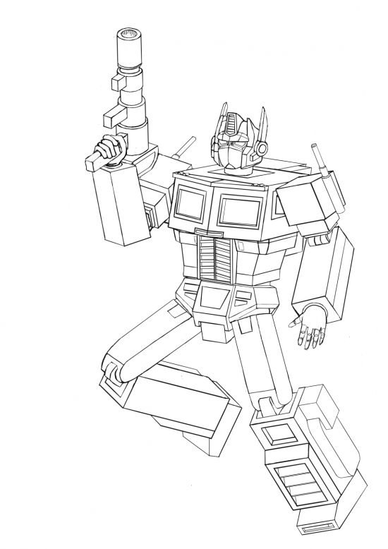 Optimus Prime In Action WIP017 - W1131H1600