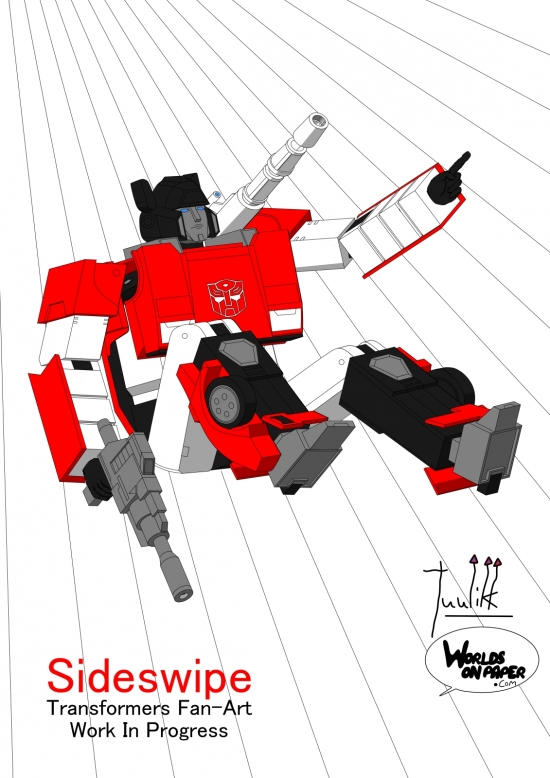 Sideswipe Go WIP026 color test - W1131H1600