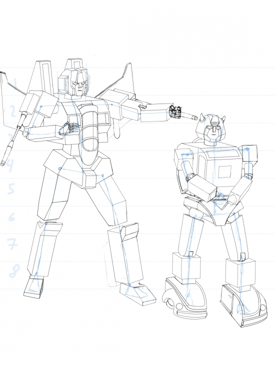 Starscream VS Bumblebee 02 WIP012 - W1131H1600