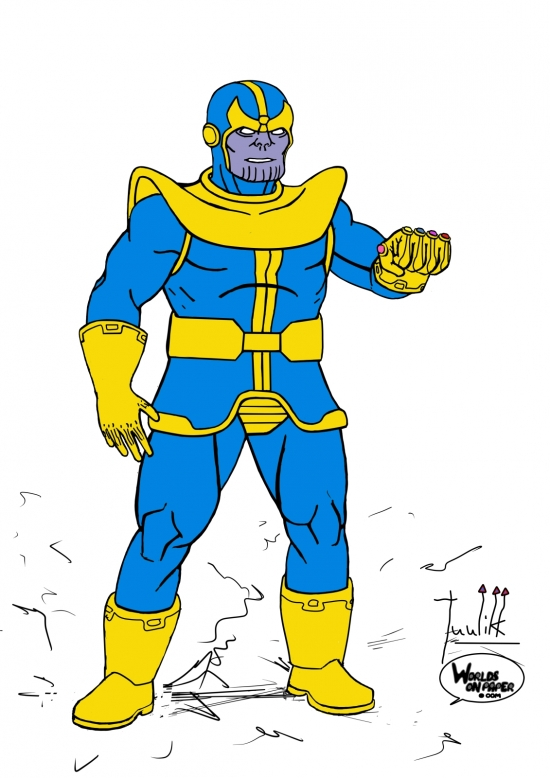 Thanos Standing WIP009 color - W1131H1600