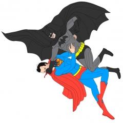 Batman VS Superman Color