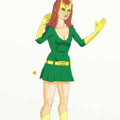 Marvel Girl Standing 022 Color