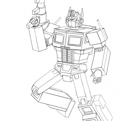 Optimus Prime In Action WIP016 - W1131H1600