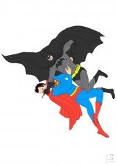 Batman VS Superman Color WIP009 - W1131H1600
