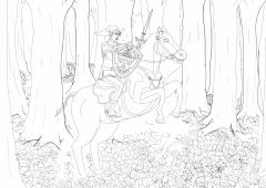 Link Riding - Manga Studio Version WIP008