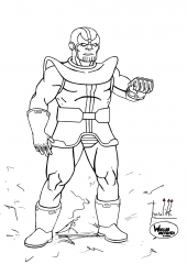 Thanos Standing WIP009 - W1131H1600