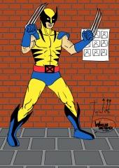 X-Men - Wolverine WIP011 color - W1131H1600
