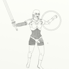 Girl Warrior WIP010