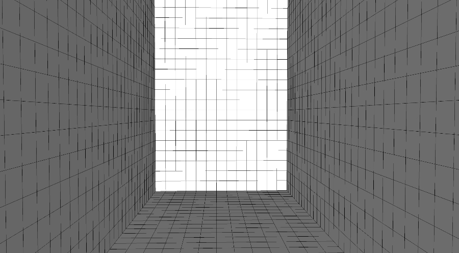 testing out my new perspective grid