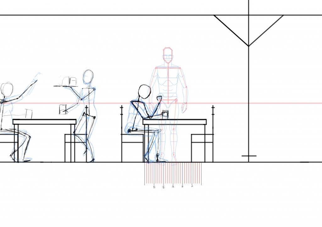 scene worlds on paper. Black Bedroom Furniture Sets. Home Design Ideas
