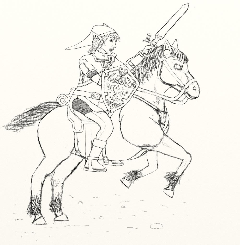 the legend of zelda  worlds on paper